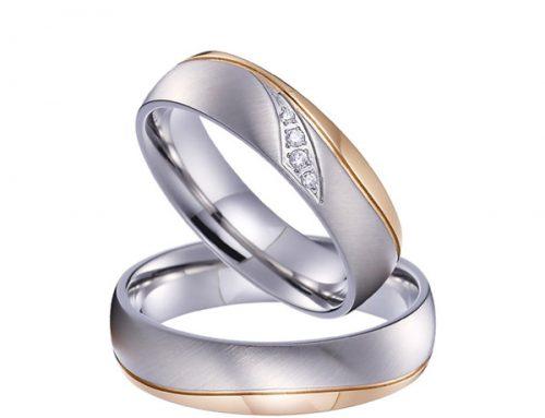 Nemesacél gyűrűk az örökkévalóságnak
